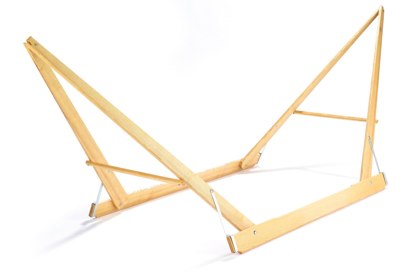 Hängemattengestell Selber Bauen hängemattengestell aus holz und stahlrohr günstig kaufen im