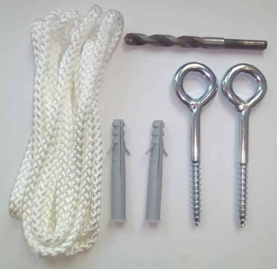 Zubehör Für Hängematten - Seile, Haken, Karabiner ... Haengematte Aufhaengen Montage Pflege